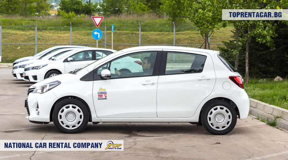 Toyota Yaris from Top Rent A Car