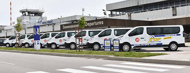 Minibuses for passenger transfers from Top Transfers