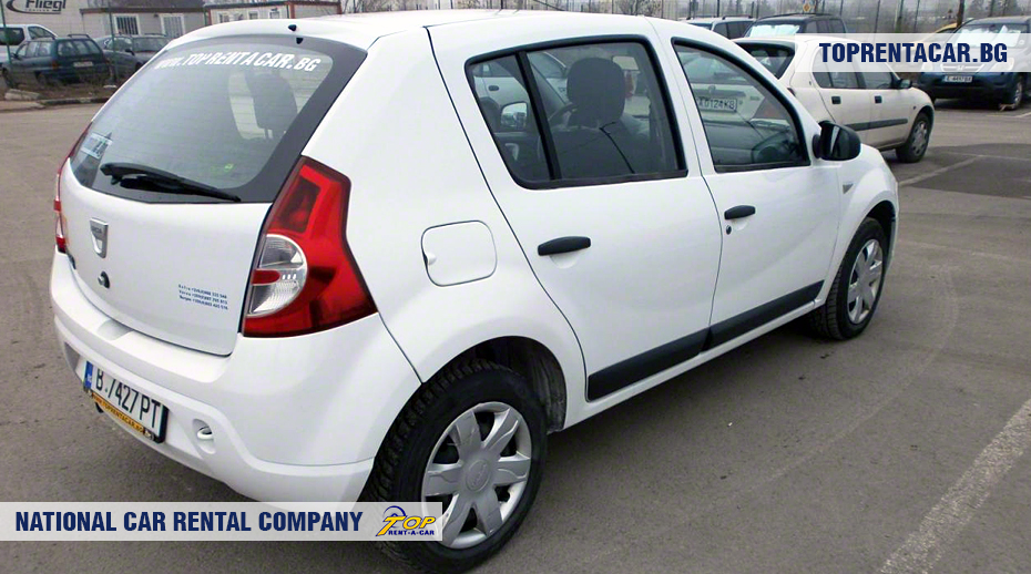 Dacia Sandero - rear view