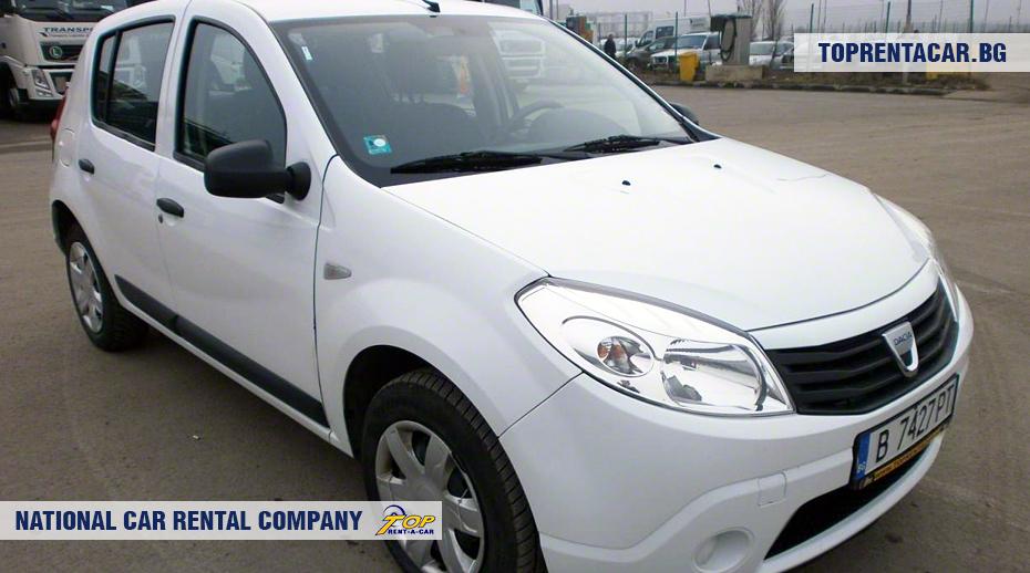 Dacia Sandero - front view
