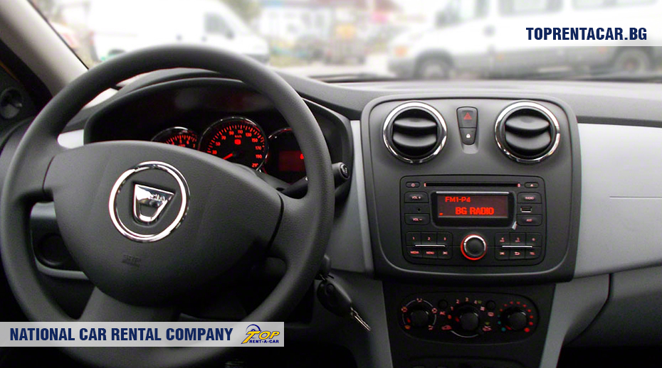 Dacia Logan - inside view