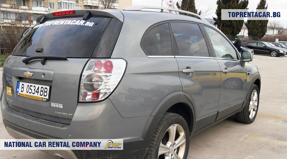 Chevrolet Captiva - rear view