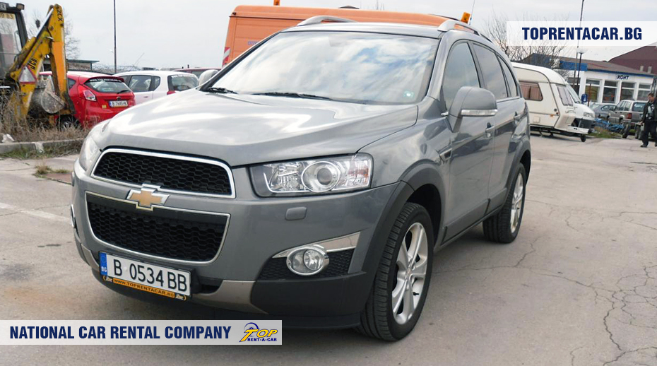 Chevrolet Captiva - front view