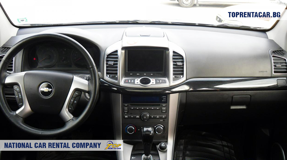 Chevrolet Captiva - inside view