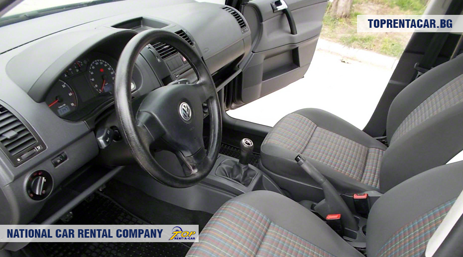 VW Polo - inside view