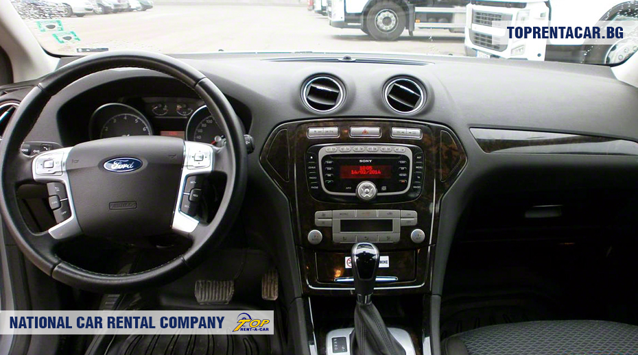 Ford Mondeo - inside view