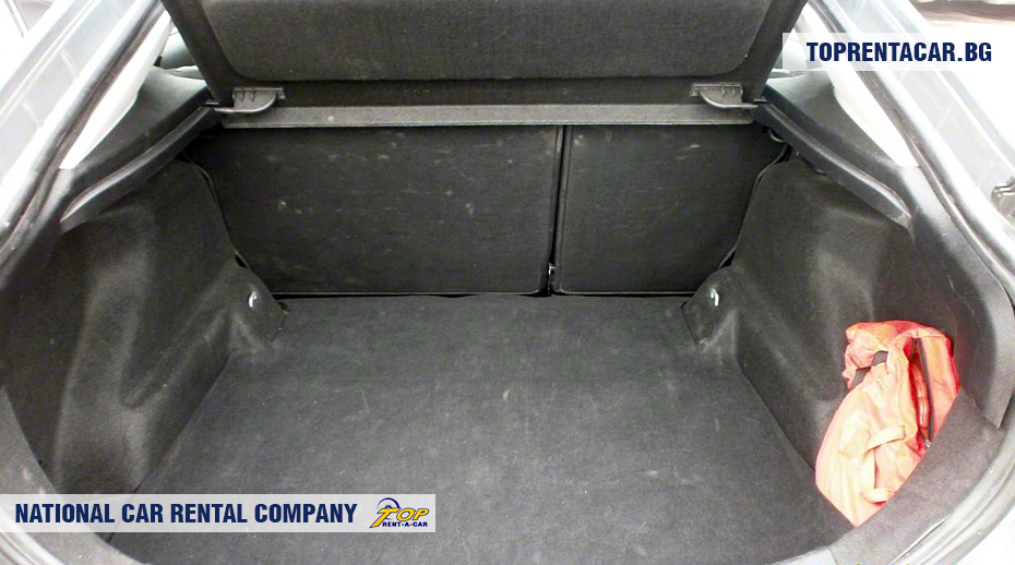 Ford Mondeo - trunk view