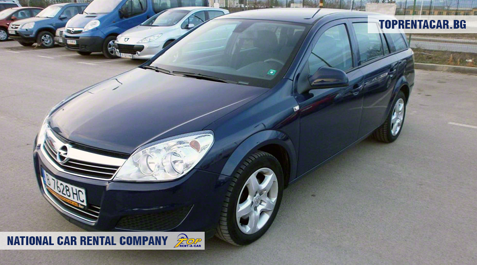 Opel Astra Estate - front view