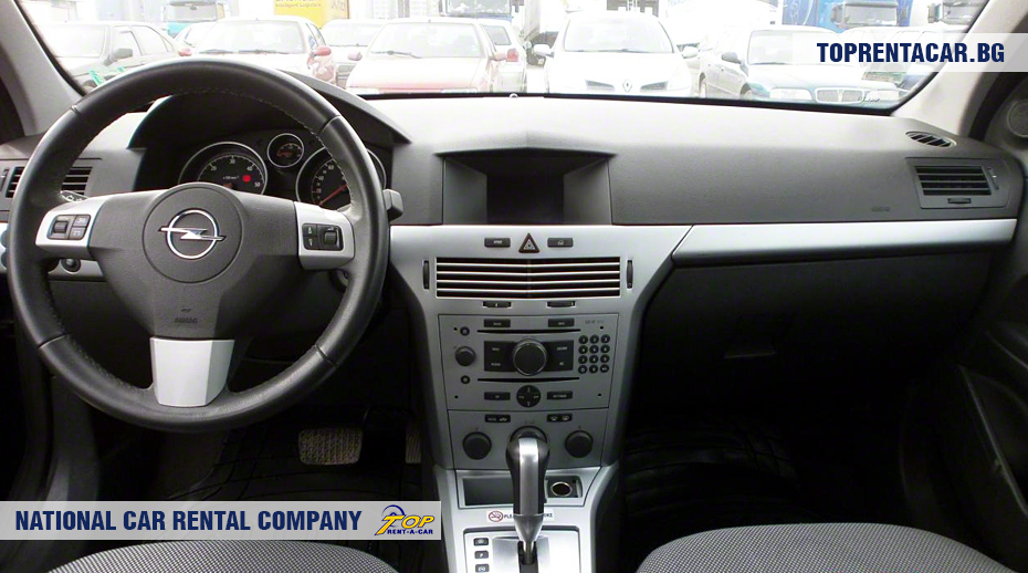 Opel Astra Estate - inside view