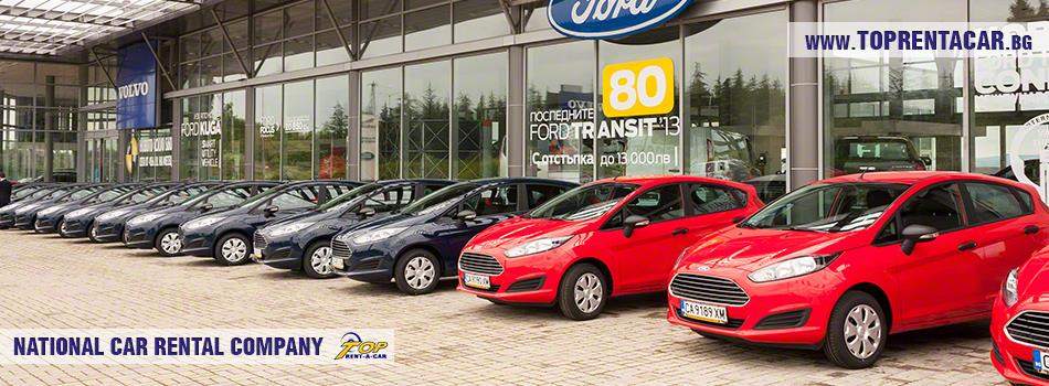 New car fleet from Top Rent A Car