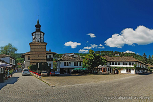 Clock tower in Tryavna