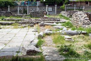 Ruins in Sandanski