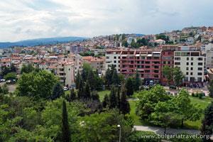 View from Sandanski